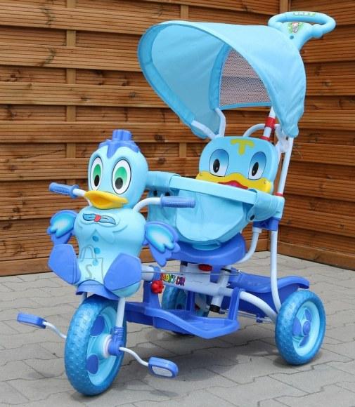 """Multifunktsionaalne kolmerattaline jalgratas """"Happy Duck"""""""
