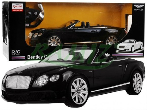 Raadioteel juhitav mudelauto Bentley Continental GT 1:12