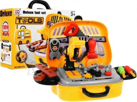 Tööriistakomplekt autokujulises kohvris