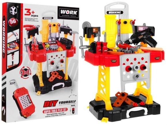 Mängu töölaud tööriistadega