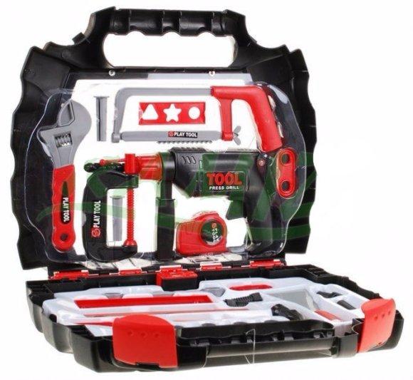 Mängu tööriistakohver lastele