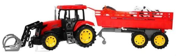 Traktor järelhaagise ja heliefektidega