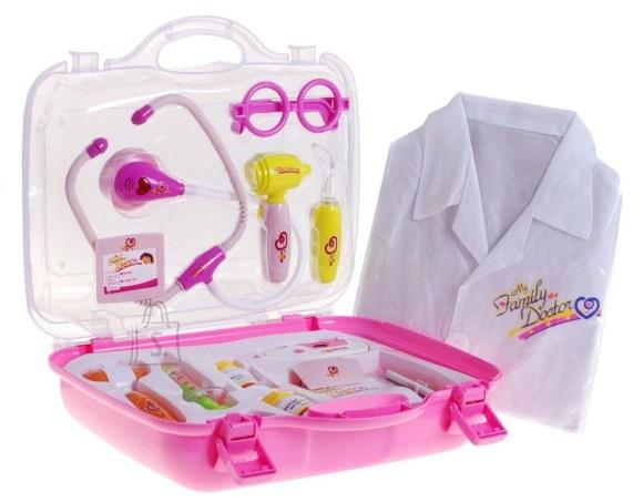 Kohvri ja kitliga arstikomplekt lastele