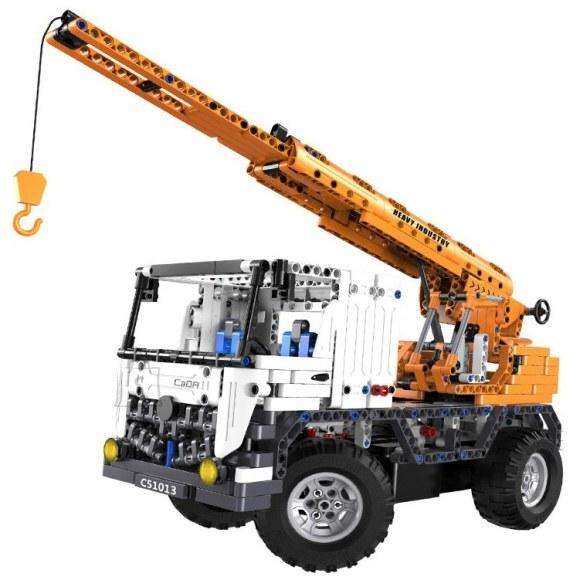 Raadioteel juhitav kokkupandav kraanaauto 2.4GHz