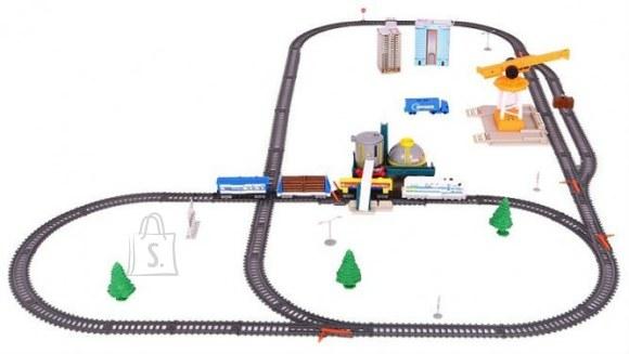 Rongikomplekt koos rongi, sadamakraana ja tarvikutega