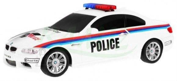 Raadioteel juhitav politseiauto BMW M3 27MHz 1:18