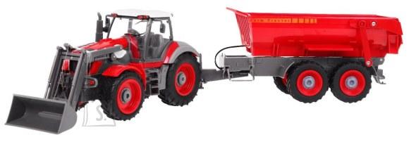 Raadioteel juhitav traktor koos järelhaagisega 1:28