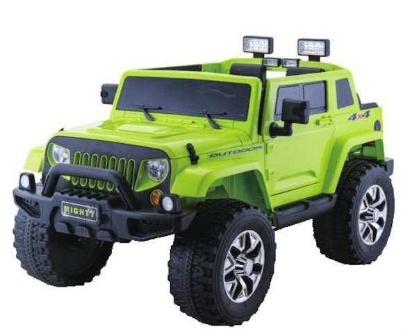 Elektriauto Jeep Mighty