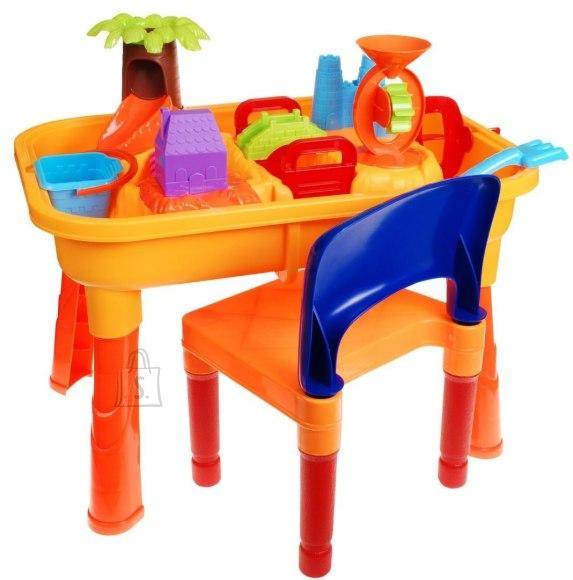 Mängukomplekt laua, tooli ja aksessuaaridega