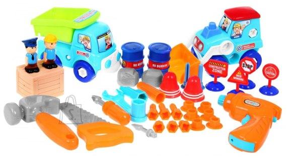 Mängukomplekt ehitussõidukid