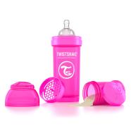 Twistshake Twistshake Anti-Colic lutipudel 260ml, Roosa