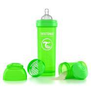 Twistshake Twistshake Anti-Colic lutipudel 330ml, Roheline