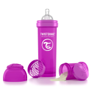Twistshake Twistshake Anti-Colic lutipudel 330ml, Lilla