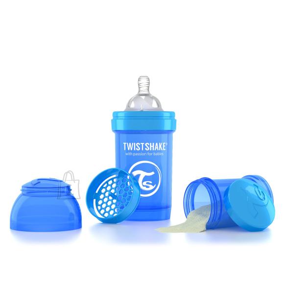 Twistshake Twistshake Anti-Colic lutipudel 180ml, Sinine
