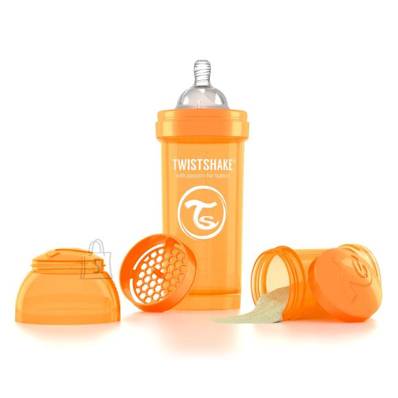 Twistshake Twistshake Anti-Colic lutipudel 260ml, Oranž
