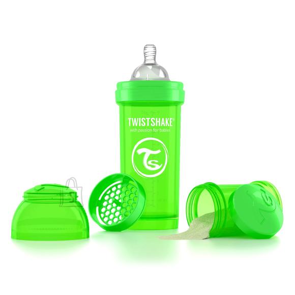 Twistshake Twistshake Anti-Colic lutipudel 260ml, Roheline