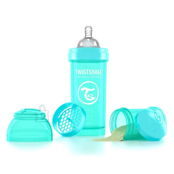 Twistshake Twistshake Anti-Colic lutipudel 260ml, Türkiissinine