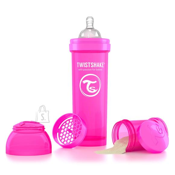 Twistshake Twistshake Anti-Colic lutipudel 330ml, Roosa