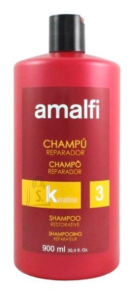 Taastav profesionaalne šampoon keratiiniga 900 ml Amalfi