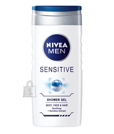 Nivea dušigeel Sensitive meestele 250 ml 81079