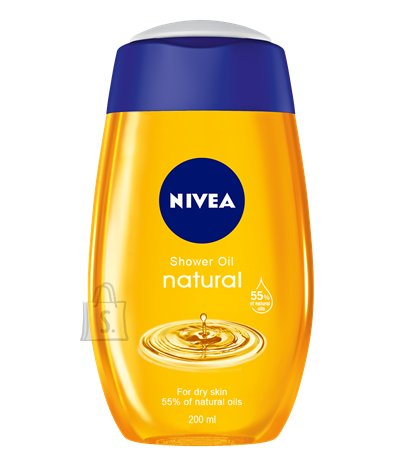Nivea dušiõli Natural Oil 200 ml 80828