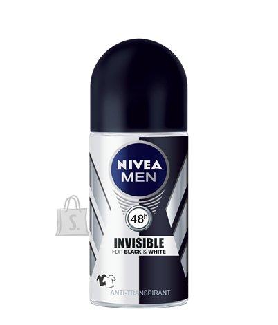 Nivea Roll Power Black & White meestele 50 ml 82245