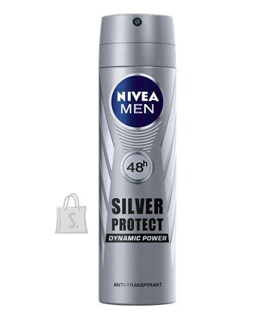Nivea Spray Silver Protection meestele 150 ml 82959