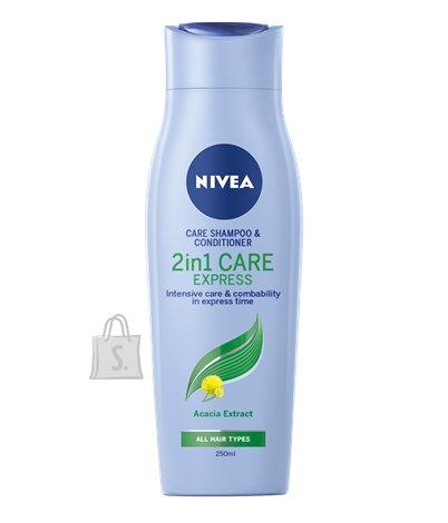 Nivea šampoon + Palsam 2 In 1 250ml 81435