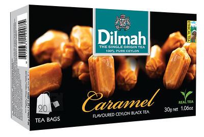 Dilmah 20/1,5g/12 Caramel teekotid