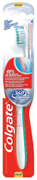 Colgate hambahari 360 Pro Relief Ultra soft