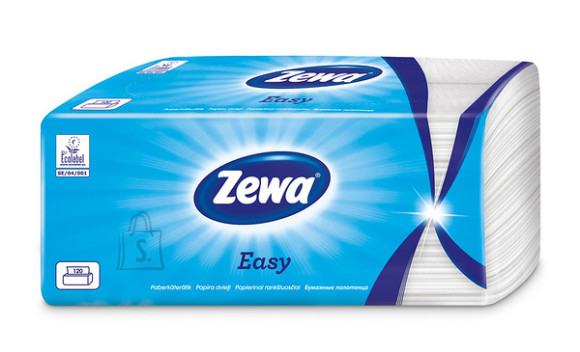 Zewa majapidamispaber Easy 120 lehte, 2-kihiline