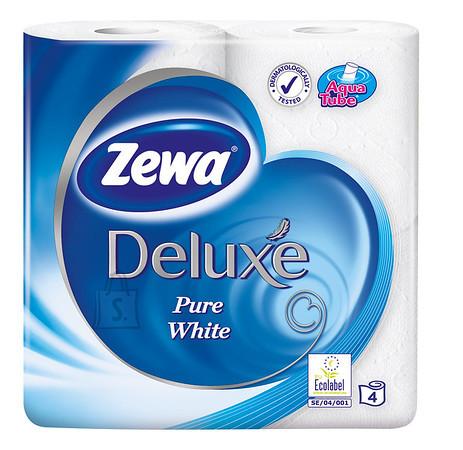 Zewa tualettpaber Deluxe Pure White, 3- kihti, 4 rulli