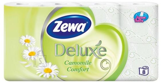 Zewa tualettpaber Deluxe 8 rulli, kummel, 3-kihti