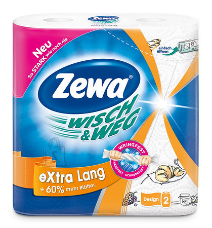 Zewa majapidamispaber Wisch & Weg Disain 2 rulli