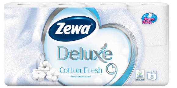 Zewa tualettpaber Deluxe Cotton Fresh, 8 rulli, 3- kihti