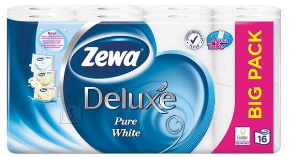 Zewa tualettpaber Deluxe Pure White, 16 rulli, 3-kihti