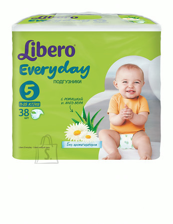 Libero Everyday XL 11-25 kg, suurus 5- 38 tk