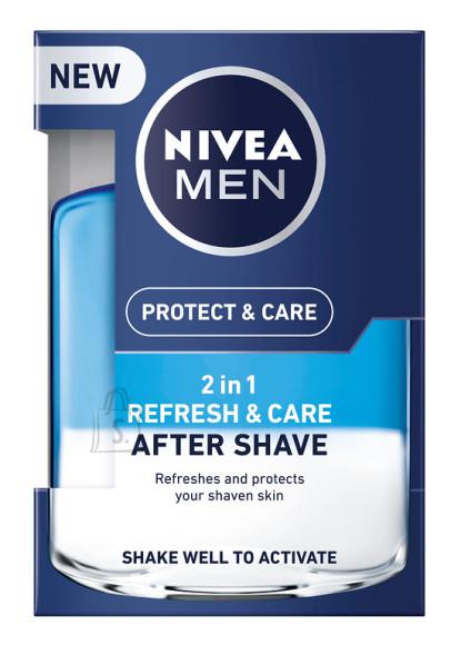 Nivea vedelik 2in1 Protect&Care pärast habemeajamist 100ml 88569