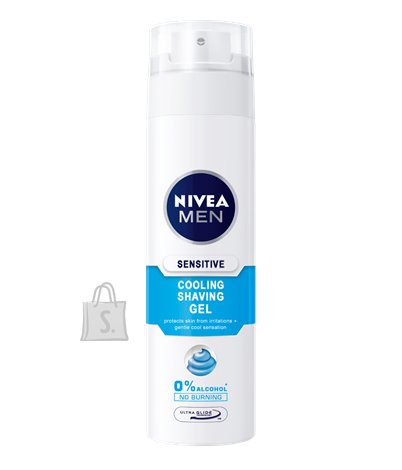 Nivea Men habemeajamisgeel Sensitive Cooling 200 ml 88542