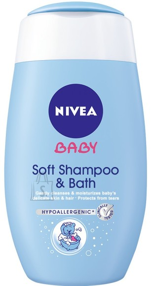 Nivea Baby 2in1 Šampoon ja vannigeel 200 ml 80552