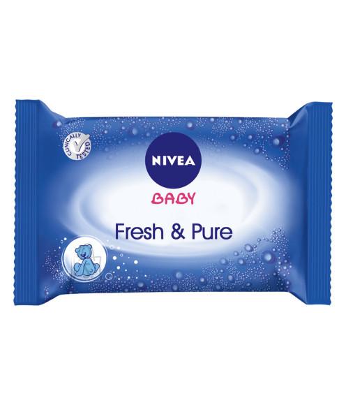 Nivea Baby Fresh & Pure niisked salvrätid 63tk 86247