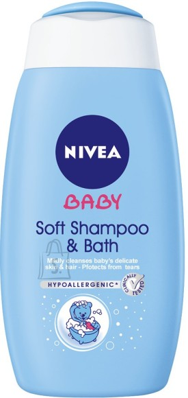 Nivea Baby 2in1 Šampoon ja vannigeel 500 ml 86263