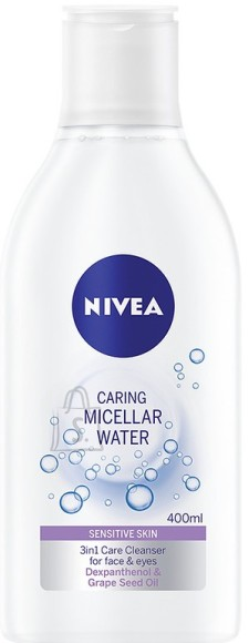 Nivea Micellar vesi  SENSITIVE 400 ml 89259