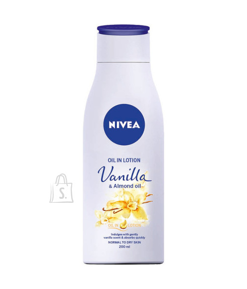 Nivea ihupiim Vanilla & Almond Oil 200ml 88417