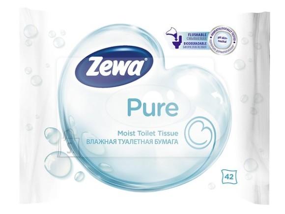 Zewa niisked tualettpaberid Pure 42 tk