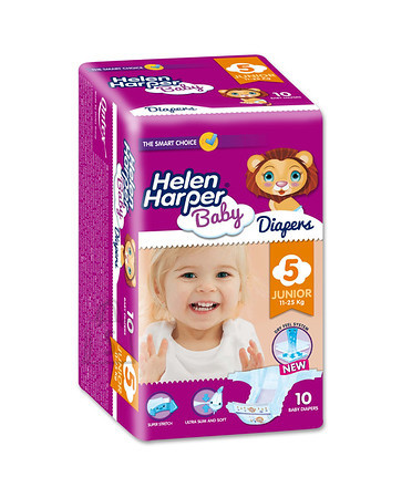 Helen Harper Smart Choice Junior 11-25 kg, suurus 5- 10 tk