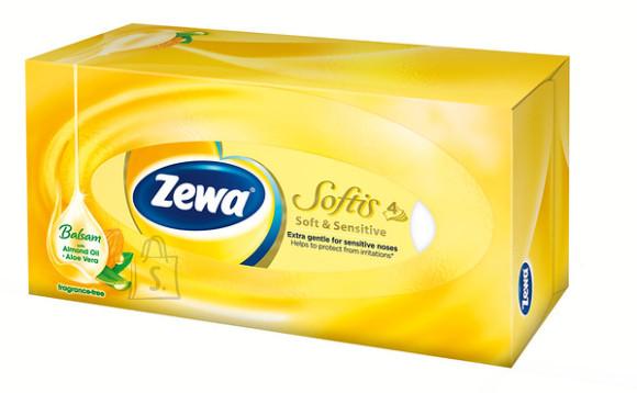 Zewa salvrätikute karp Softis Sensitive 80 tk, 4-kihiline