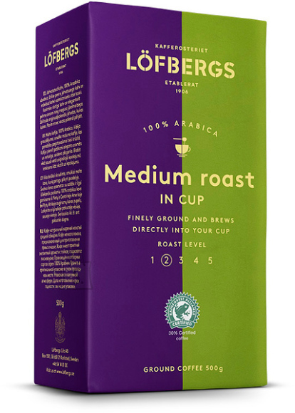 Löfbergs Lila Medium roast In-Cup 500 g