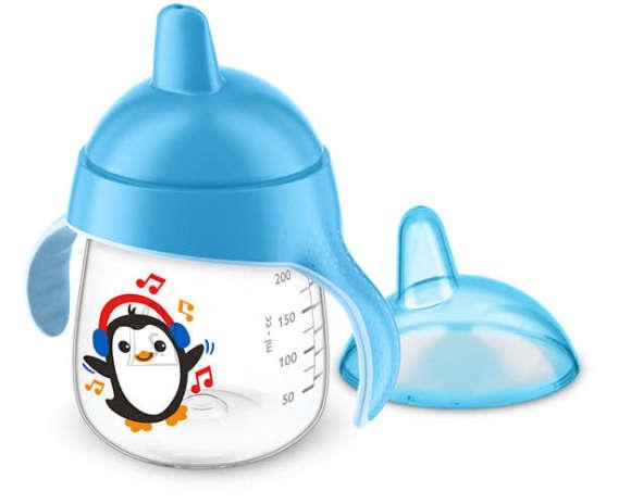 Philips Avent tass tilaga pingviin 260ml sinine SCF753/05