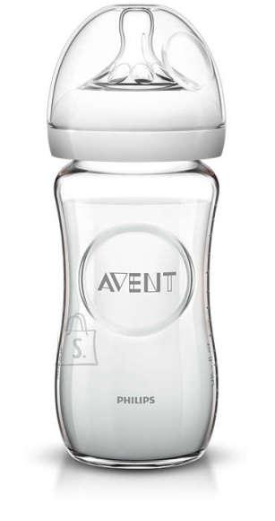 Philips Avent klaasist toitmispudel Natural 260 ml SCF053/17